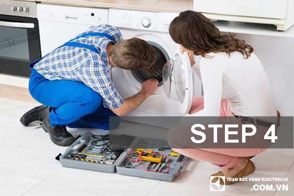 Bước 4: Lắp ráp và test máy và nghiệm thu.
