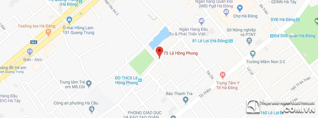 Trung tâm sửa máy giặt Electrolux tại Hà Đông