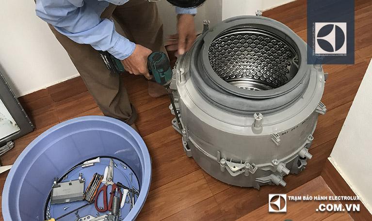 Thay ổ bi bạc phớt cho máy giặt tại nhà