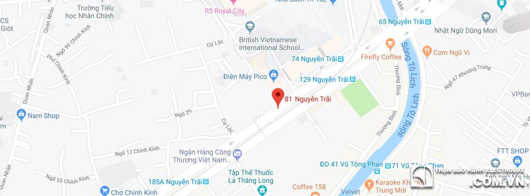 Trạm DVBH & sửa chữa Electrolux Thanh Xuân