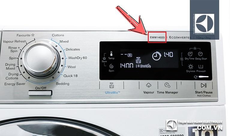 Nhận biết chế độ sấy ở máy giặt Electrolux