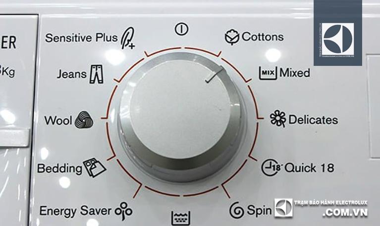 Chọn chế độ giặt phù hợp